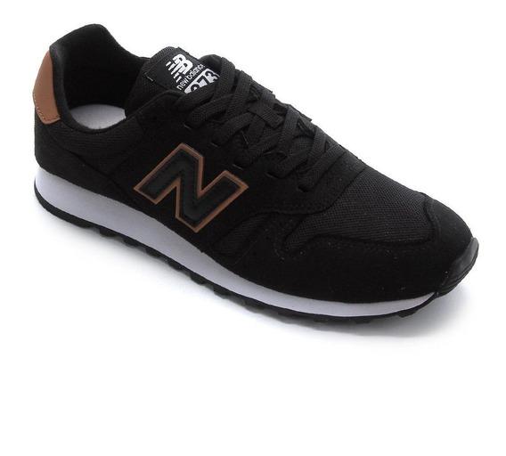 Tênis New Balance 373 Preto - Original