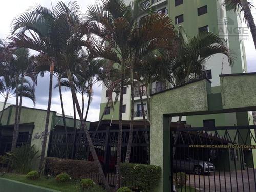 Imagem 1 de 23 de Apartamento Com 2 Dormitórios À Venda, 64 M² Por R$ 350.000,00 - São Bernardo - Campinas/sp - Ap16424