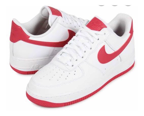 Tenis Nike Air Force (cod Ah0287-107) Blanco Y Rosa