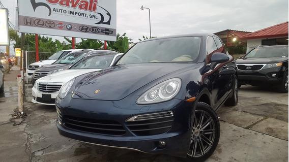 Porsche Cayenne S Azul 2012