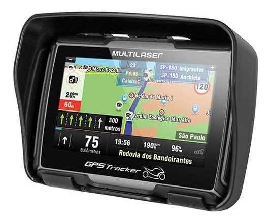 Gps Tracker Para Motocicletas - Multilaser - Bluetooth Gp022