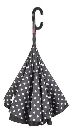Guarda-chuva Invertido Automático Bolinhas Fazzoletti