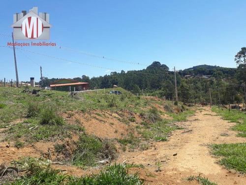 Excelente Terreno Com Ótima Topografia, Bem Localizado, Vista Deslumbrante, À Venda, 2000 M² Por R$ 150.000 - Rural - Pedra Bela/sp - Te0385