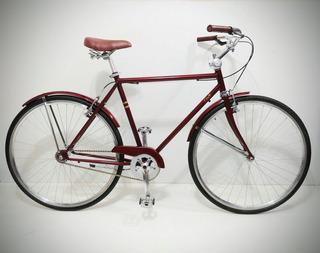 Bicicleta Paseo Urbana Vintage Retro R28 700c Hombre Clásica
