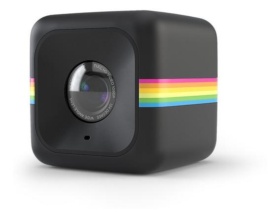 Cámara Polaroid Cube- Acción+full Hd Negro Oficial