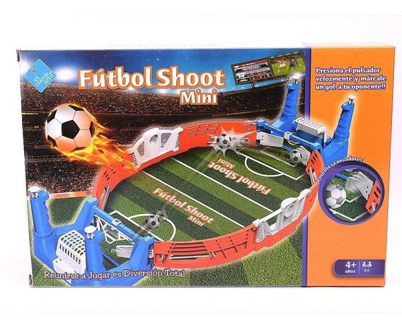Futbol Shoot Mini Duende Azul Fibro 7284