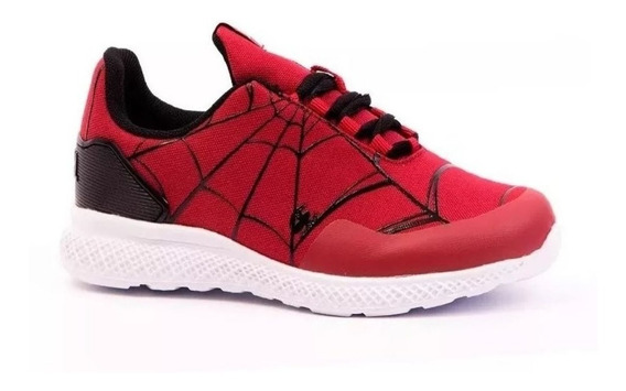 Zapatillas Spiderman Hombre Araña Marvel Parker Fty Calzados