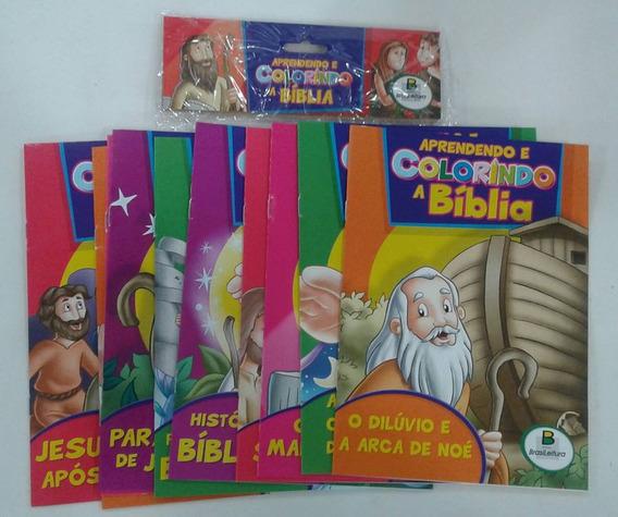 Colorindo A Bíblia Para O Dia Das Crianças, Com 10 Livros