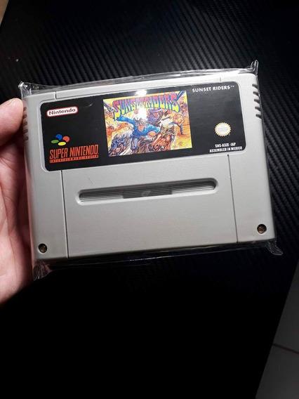 Fitas De Super Nintendo Sunset Riders