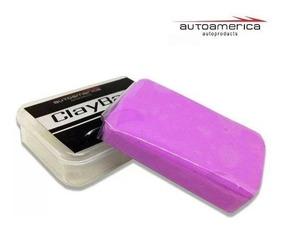 Clay Bar Abrasividade Média 100g Autoamerica