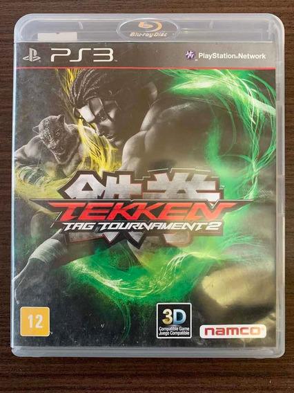 Jogo Usado Tekken Tag Tournament 2 - Playstation 3 Míd. Fís.