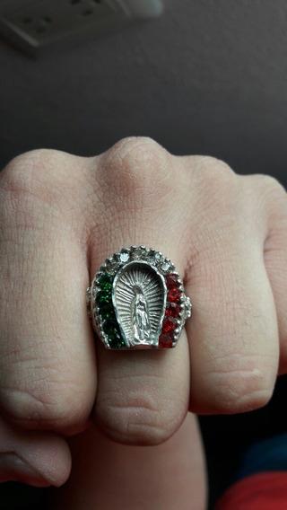 Anillo Virgen De Guadalupe Con Zirconias