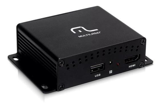 Receptor Digital Multilaser Tv Au908 Entrada Usb E Hdmi