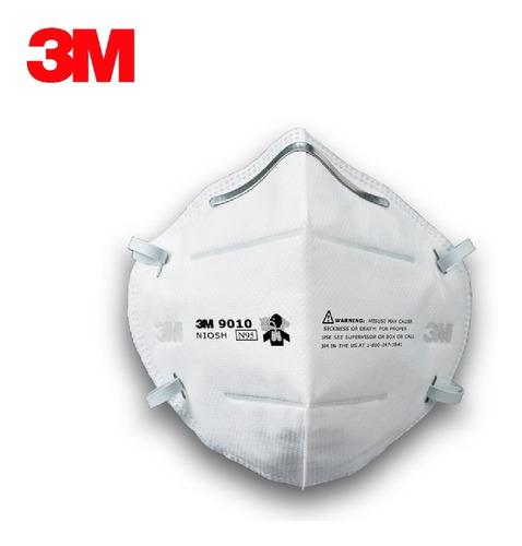 Barbijo Tapaboca Respirador Mascarilla 3m 9010 ( Pack X 10 )