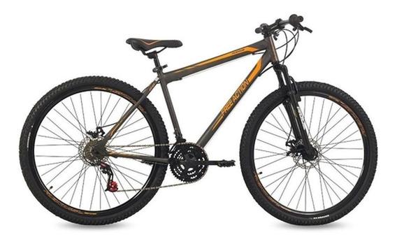 Bicicleta Free Action Aro 29 Flexus Alumínio 21v