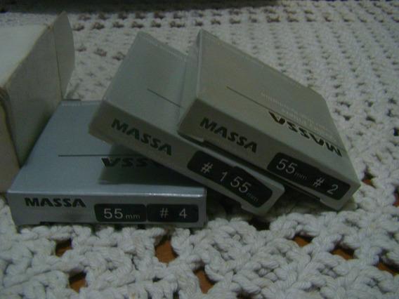 3 Filtros Uv Para Lentes Massa 55mm
