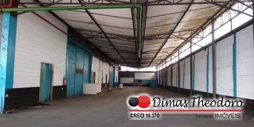 Imagem 1 de 2 de Vende  Galpão Industrial - Bairro Parque No Mundo Sp - 2123