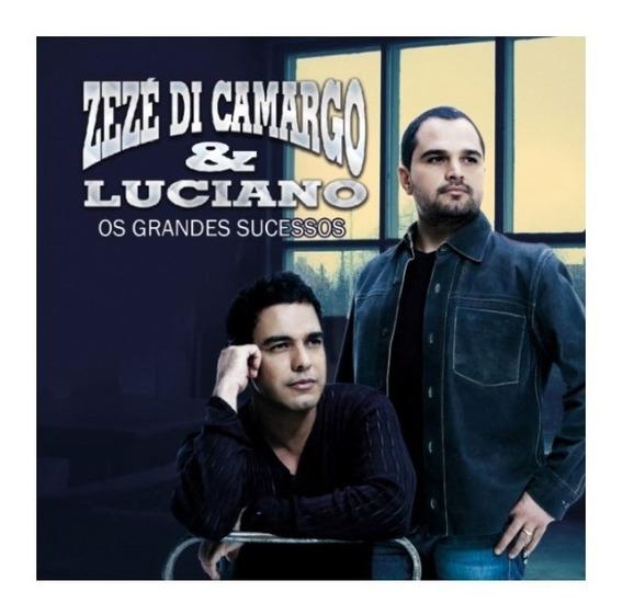 Cd Zezé Di Camargo E Luciano - Os Grandes Sucessos - Lacrado