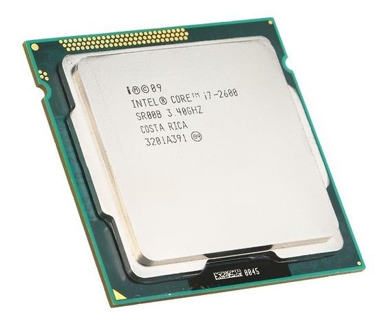 Processador Intel Core i7-2600 4 núcleos 32 GB