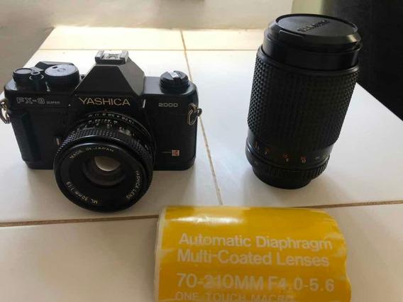 Camera Yashica Fx-3 2000, E Lentes