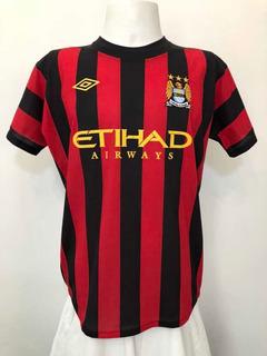 Camisa Manchester City Inglaterra 2012 Away Umbro Etihad