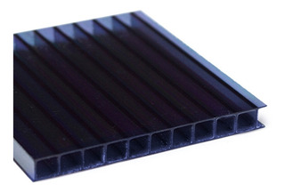 Chapa Policarbonato Alveolar Fume 2,10x6,00 4milimetros