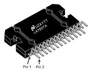 Lm4780 Circuito Integrado Estéreo Amplificador Audio 120w