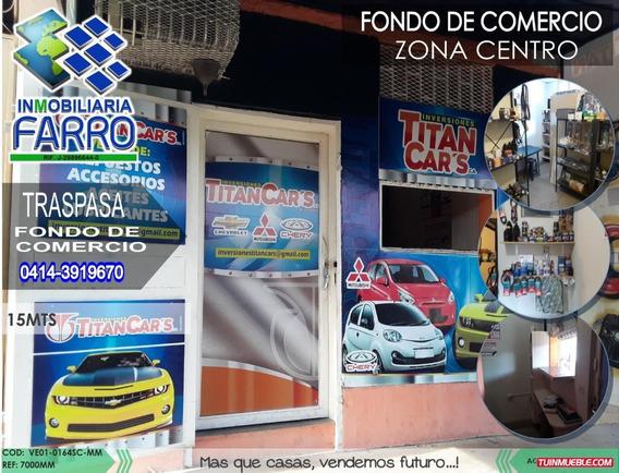 Venta De Fondo De Comercio Sector Centro Ve01-0164sc-mm