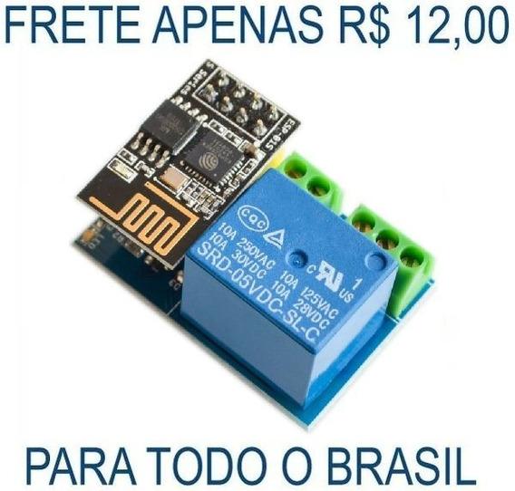 Módulo Relé Wi-fi Esp8266 Esp-01 Esp01 Automação Arduino