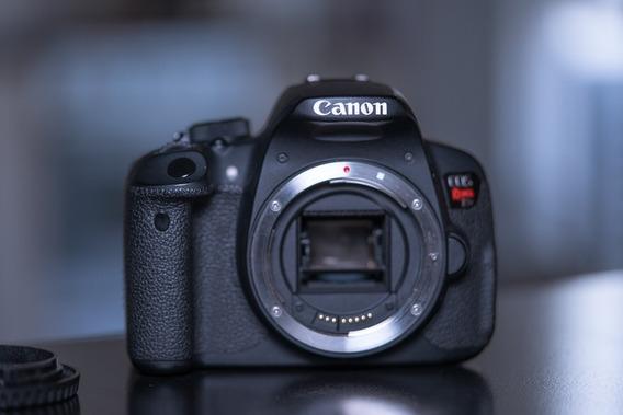 Cámara Canon Rebel T5i Como Nueva, En Caja + Accesorios