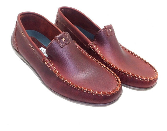 Mocasin Con Costura Marron - Calzados Union