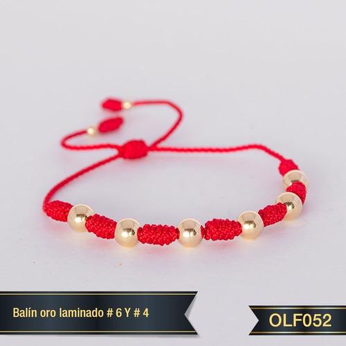 Pulsera Oro Laminado 18k Olf052