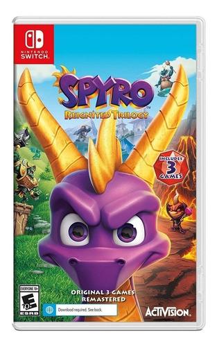 Imagen 1 de 6 de Spyro Reignited Trilogy Nintendo Switch Juego Físico Sellado