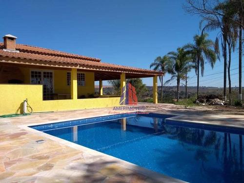 Imagem 1 de 28 de Chácara Com 2 Dormitórios À Venda, 730 M² Por R$ 450.000,00 - Chácara Recreio Cruzeiro Do Sul - Santa Bárbara D'oeste/sp - Ch0038