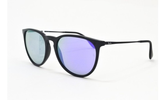Óculos De Sol Ray Ban Erika Rb4171l 601/4v Acetato Unissex