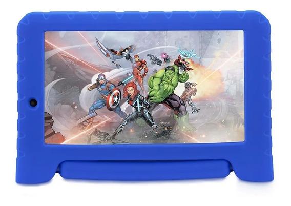 Tablet Avengers Plus 7 Nb307 Multilaser - Azul