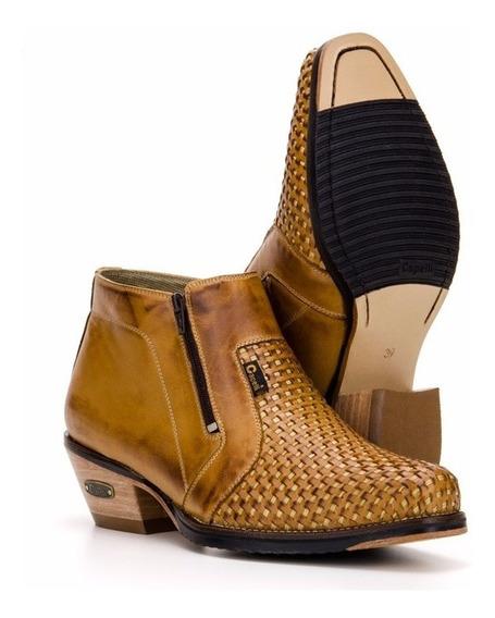 Botina Trisse Bota Country Masculina Couro - Capelli Boots