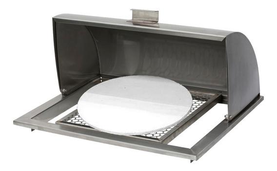 Forno Para Pizza E Assados - P/ Braseiro De 60cm