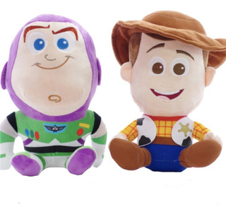 Woody & Buzz Lightyear Peluches Pequeños Felpa Toy Story