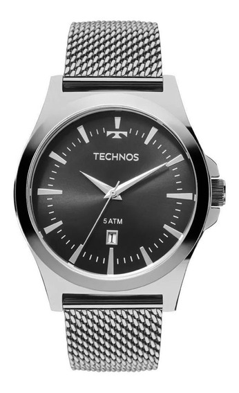Relógio Masculino Technos Aço Inoxidável Esporte 2115lal/0p
