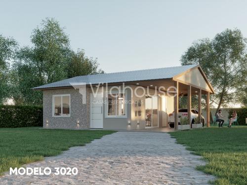 Imagen 1 de 4 de Vilahouse Casas Prefabricadas - Modelo 3020 2dorm 1 Baño
