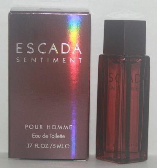 Miniatura De Perfume: Escada - Sentiment Pour Homme - 5 Ml