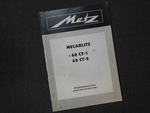 Manual Do Flash Metz 60 Ct-1
