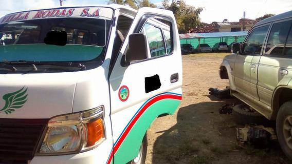 Nissan Urvan Zd30 Modelo 2011 Blanca Afiliada A Empresa,