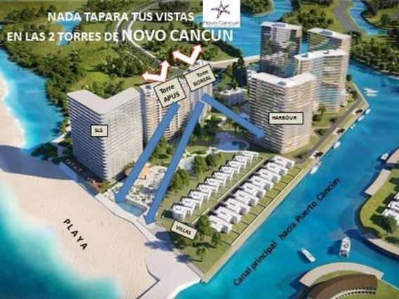Departamento En Venta 3 Recámaras Estudio Tv En Novo Cancun, Puerto Cancùn