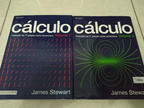 Livro De Cálculo-volume 1 E 2 Do James Stewart (pouco Usado)