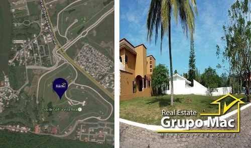 Terreno En Venta En Club Del Golf Villa Rica, Alvarado, Veracruz