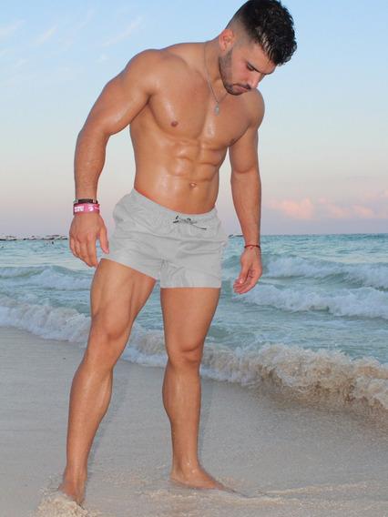 Short Corto Traje De Playa Colores Impermeable Fénix Fit