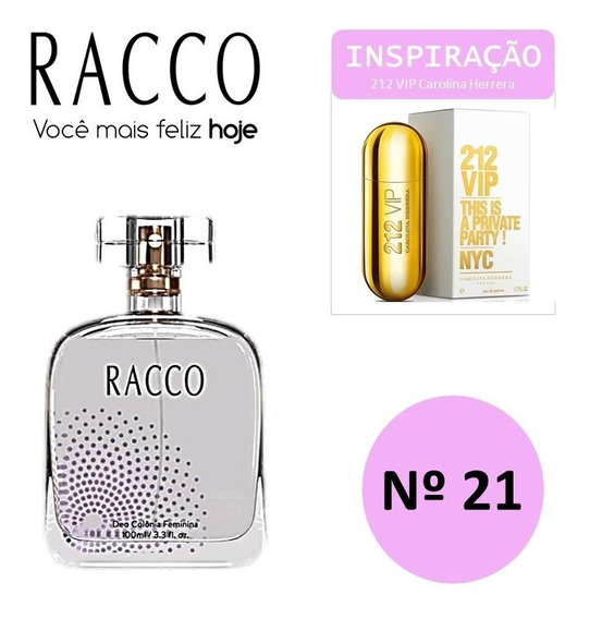 Colonia Racco Trends Nº 21 100ml ( Insp. 212 Vip. Femin)