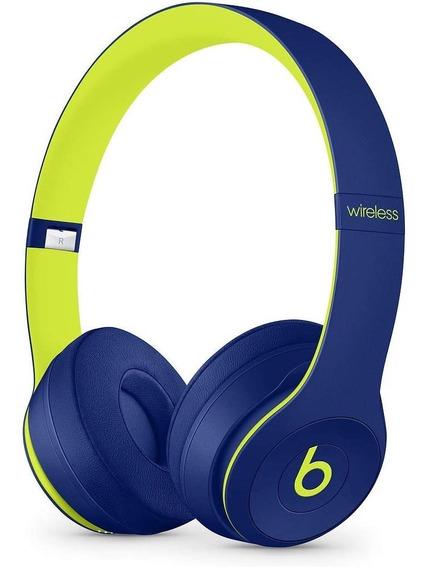 Fone Beats Solo 3 Wireless Serie Limitada Pop Indigo Novo